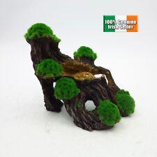 Wood with Moss Aquarium Fish Tank Ornament Decoration MEDIUM 20CM