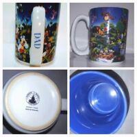 "Coffee Mug Walt Disney World Pixar Personalized ""Dad"" Mickey Goofy Mufasa"
