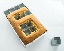 DIY Backform Große Zahlen Buchstaben Aluminium Ausstechform Kuchenform Kuchen