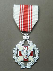 1.11M. Belle médaille civile belge de la croix rouge n°1 belgian MEDAL