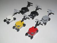 Lego ® Accessoire Minifig Tondeuse de Jardin Pelouse Gazon Choose Color NEW