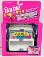 Barbie Snap 'n Store Quilted Doll Case Accessory - Shoe Rack
