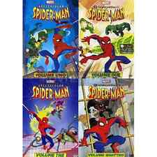 Dvd *** SPECTACULAR SPIDER-MAN 1-2-3-4 (4 Dvd) *** sigillato