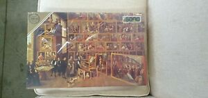 Falcon Deluxe 5000 Piece Jigsaw Puzzle Wilhelms Studio Sealed Box Brand New Rare