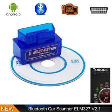Mini OBD2 ELM327 V2.1 Bluetooth Auto Scanner Android Torque Scan Attrezzo Obd-Ii