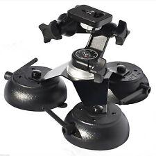 Car Camera Suction Cup Mount Three Vacuum Base Action Camera Holder  VacMounts