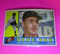 1960 Topps #479 Georges Maranda Rookie Giants NmMt High Grade Sharp!