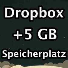 Dropbox + 5 GB Upgrade Service/estensione di archiviazione