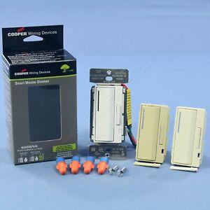 White Ivory Almond Smart Master Dimmer Preset Light Switch Multi-Way AIM06-C1