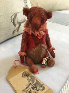 Artist bear one of a kind - Reinette- created by Vera Vlasova stunning! Russian