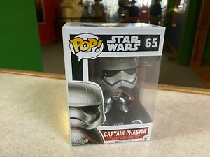 Funko POP! NIB Star Wars Force Awakens CAPTAIN PHASMA #65