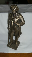 Vintage Statue figurine figure sculpture Ludwig Van Beethoven METAL Murzin 4754