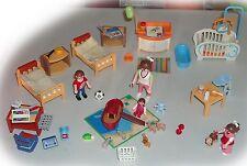4286 Babyzimmer + 4287 Kinderzimmer - fürs Puppenhaus / Wohnhaus