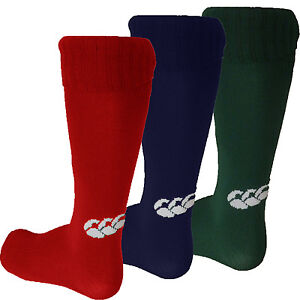 Canterbury Rugby Hockey Cricket Sports Socks CCC Kids Infants Size 3.5 to 12 New