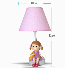 Home Decor Bedroom Kid Little Girl DIY Table Lamp Bedside Desk Floor Light TBT
