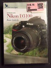 Blue Crane Digital Instructional DVD, Nikon D3100 basic controls NEW & SEALED