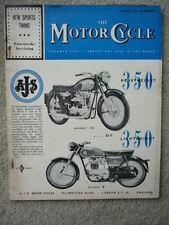 MOTOR CYCLE 27.4.61. NORTON DOMINATOR, SUNBEAM S8   jm