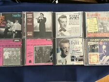 Harry James Collection of 8 Different CD's     L3418