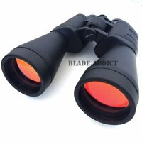 Large Day/Night 20x70 Military Zoom Powerful Binoculars Outdoor Hunting Camping