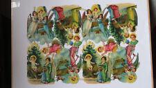 More details for scraps 1098 nativity vintage sheet christmas xmas victorian glanzbilder diecut