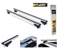 Baca barras cruzadas de aluminio de bloqueo se adapta KIA SPORTAGE (SL) 2010 en adelante
