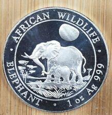 2011 Somalia 1 oz. Silver Elephant  Proof-Like 100 Shillings coin