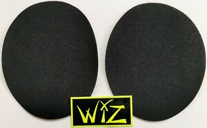 WIZ  'LOOP' PATCHES. SELF ADHESIVE. SOFT MATERIAL MOTORCYCLE RACING