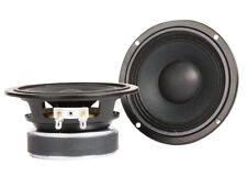 "Eminence ALPHA 4-8  4.5"" Midrange Midbass Fullrange Speaker 8 ohm SOLD IN PAIRS!"