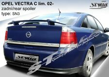 SPOILER REAR BOOT OPEL VAUXHALL VECTRA C WING ACCESSORIES