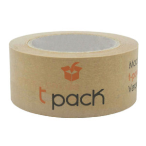 Papier Klebeband Klebeband Paket Öko Packband Individuell bedruckt mit LOGO