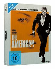 THE AMERICAN (George Clooney, Violante Placido) Blu-ray Disc, Steelbook NEU+OVP