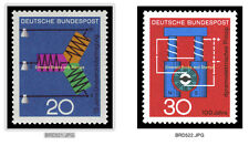 EBS Germany 1966 Progress in Technology and Science (II) Michel 521-522 MNH**
