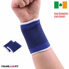 1Pair Wrist Support Elastic Wristband Band Support Tennis Gym Yoga Wrist Bracers