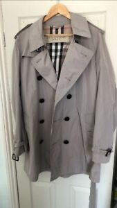 Burberry Brit Mens Trench Coat XL similar to Heritage Trench