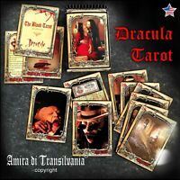 vampire tarot card deck guide book vintage oracle dracula transylvania arcana