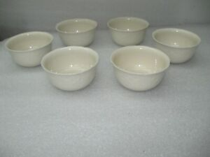 Set of 6 The Pioneer Woman Cowgirl Lace Ivory Cereal Bowls