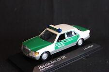 Minichamps Mercedes-Benz 420 SEL 1991 1:43 Polizei Saarbrücken (JS)