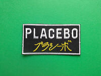 HEAVY METAL PUNK ROCK MUSIC FESTIVAL SEW ON / IRON ON PATCH:- PLACEBO