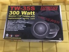 Rare Old School Earthquake Screamer TW-35S Car Stereo Soft Dome Audio Tweeters