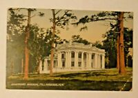Governor's Mansion, Tallahassee Florida Postcard, Posted 1908