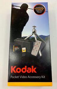 NEW Kodak Pocket Accessory Kit - Remote, Tripod, Kodak Battery, 4GB SHHC Card