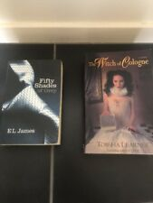 fifty shades of grey & the witch of cologne book reading interesting lot