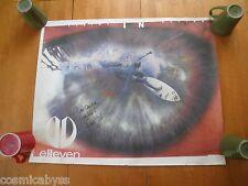 """Elleven Surfing poster signed Prue Jeffries 24x30"""""""