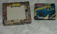 Para Hombre Batman Bi-Fold Wallet en Caja De Regalo Oficial DC Comics Batman Clásico Libro Nuevo