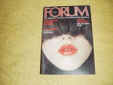 rare oop FORUM Vol 6 No 11 Nov '78 Australian Journal Of Interpersonal Relations