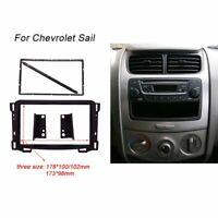 2 DIN Radio DVD fascia CD Panel Dash Frame Mounting For Chevrolet Sail 2010+