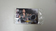 2016 TOPPS WWE Baron Corbin Card NXT Londres Takeover Authentic Mat Relic