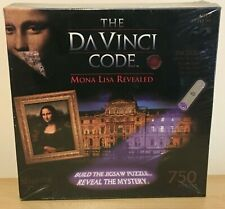 THE DAVINCI CODE. JIG SAW PLUS MYSTERY CODE AND PUZZLE New and Sealed