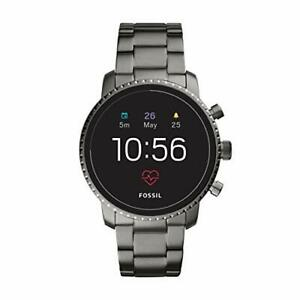 Fossil Men's Generation 4 Explorist HR stainless steel touch screen smar...