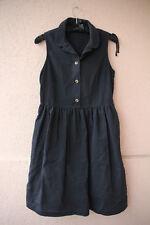 Noir, manches sans robe à boutons de Paul & Joe Sister (Elegant/chic)